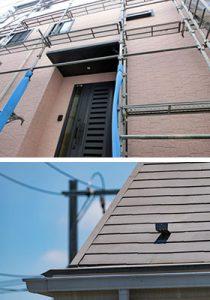 外壁塗装、屋根塗装、屋根葺き替え、サイディング貼り替え、防水工事